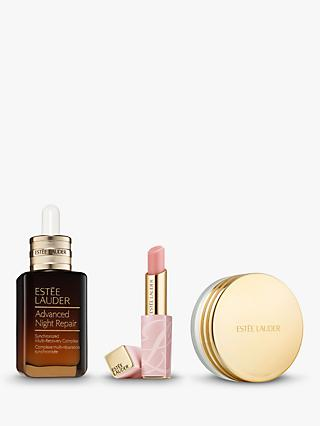 Estée Lauder Advanced Night Repair Synchronized Multi-Recovery Complex 30ml and Pure Colour Envy Colour Replenish Lip Balm Bundle with Gift