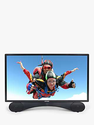 Linsar X24DVDMK3 LED Full HD 1080p TV/DVD Combi, 24 inch with Freeview HD, Black