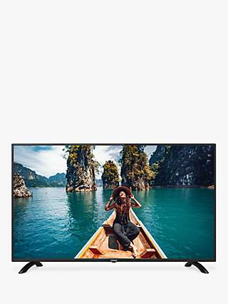 Linsar GT43LUXE LED HDR Full HD 1080p Smart TV, 43 inch with Built-In Wi-Fi & Freeview Play, Black