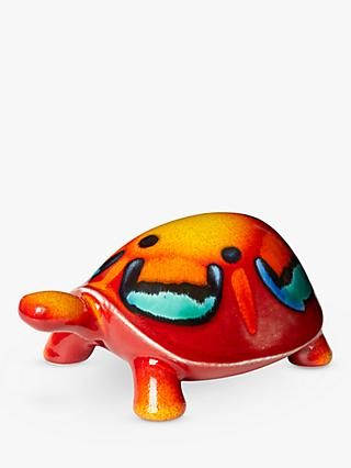 Poole Pottery Volcano Turtle Ornament