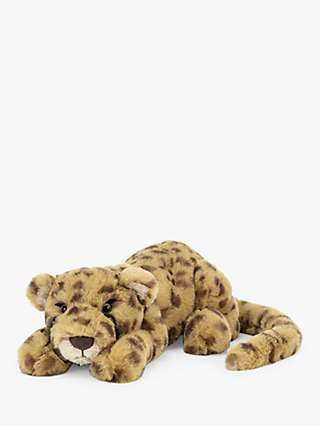 Jellycat Charley Cheetah Soft Toy, Small