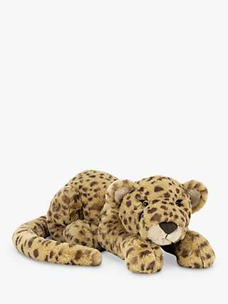 Jellycat Charley Cheetah Soft Toy, Large
