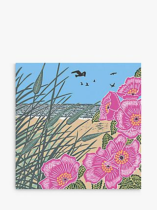 Art File Sand Dunes Blank Greeting Card
