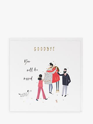 Belly Button Designs Goodbye Leaving Card