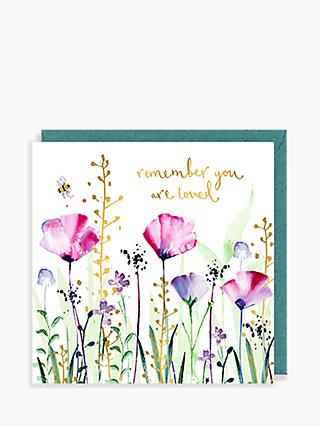 Louise Mulgrew Designs You are Loved Sympathy Card