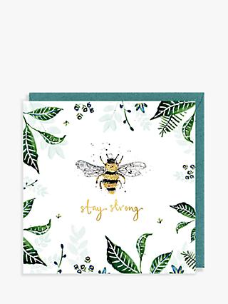 Louise Mulgrew Designs Stay Strong Sympathy Card