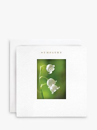 Susan O'Hanlon Lily of the Valley Sympathy Card