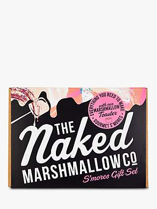 The Naked Marshmallow Co S'mores Toasting Gift Set, 200g