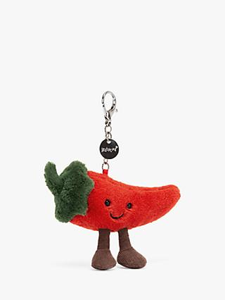 Jellycat Amuseable Chilli Bag Charm