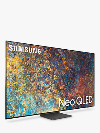 Buy Samsung QE65QN95A (2021) Neo QLED HDR 2000 4K Ultra HD Smart TV, 65 inch with TVPlus/Freesat HD, Black Online at johnlewis.com
