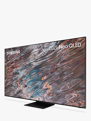 Buy Samsung QE65QN800A (2021) Neo QLED HDR 2000 8K Ultra HD Smart TV, 65 inch with TVPlus/Freesat HD, Black Online at johnlewis.com