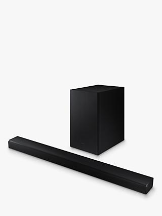Samsung HW-A550 Bluetooth Sound Bar with Virtual DTS:X & Wireless Subwoofer, Black