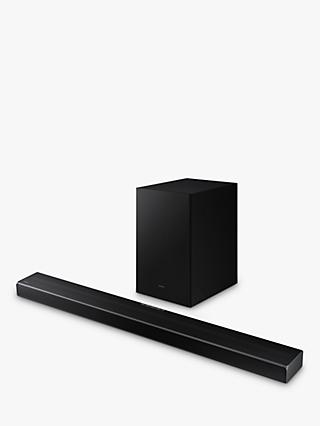 Samsung HW-Q600A Bluetooth Cinematic Sound Bar with Dolby Atmos, DTS:X & Wireless Subwoofer, Black