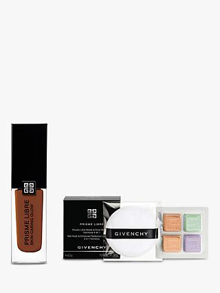 Givenchy Prisme Libre Skin-Caring Glow Foundation, 6-C485 Bundle with Gift