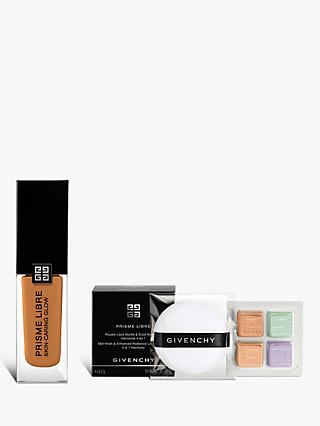 Givenchy Prisme Libre Skin-Caring Glow Foundation, 5-W370 Bundle with Gift