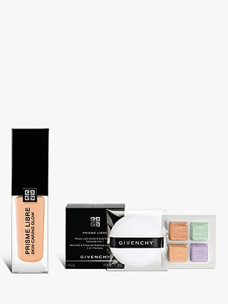 Givenchy Prisme Libre Skin-Caring Glow Foundation, 2-W110 Bundle with Gift