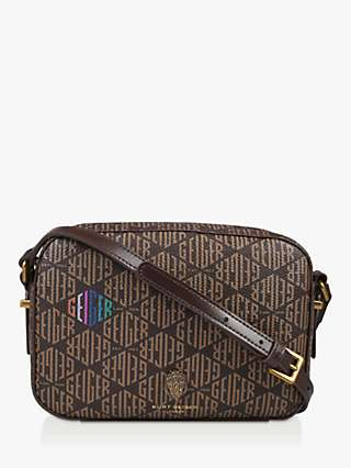 Kurt Geiger London Richmond Monogram Cross Body Bag, Multi