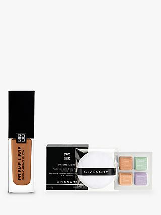 Givenchy Prisme Libre Skin-Caring Glow Foundation, 6-N405 Bundle with Gift