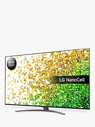 Buy LG 50NANO866PA (2021) LED HDR NanoCell 4K Ultra HD Smart TV, 50 inch with Freeview Play/Freesat HD & Dolby Atmos, Dark Steel Silver Online at johnlewis.com