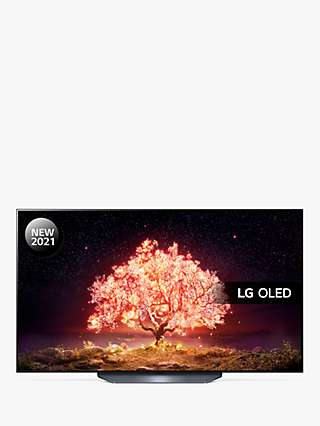 LG OLED77B16LA (2021) OLED HDR 4K Ultra HD Smart TV, 77 inch with Freeview Play/Freesat HD & Dolby Atmos, Black