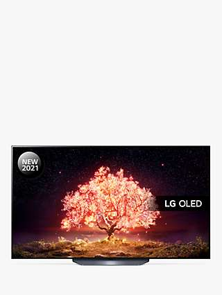LG OLED65B16LA (2021) OLED HDR 4K Ultra HD Smart TV, 65 inch with Freeview Play/Freesat HD & Dolby Atmos, Black