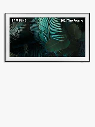 Samsung The Frame (2021) QLED Art Mode TV with Slim Fit Wall Mount, 55 inch