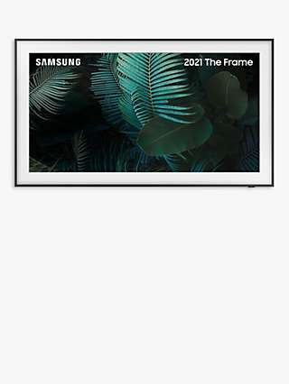 Samsung The Frame (2021) QLED Art Mode TV with Slim Fit Wall Mount, 75 inch