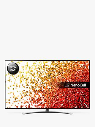 LG 55NANO916PA (2021) LED HDR NanoCell 4K Ultra HD Smart TV, 55 inch with Freeview Play/Freesat HD & Dolby Atmos, Dark Meteor Titan