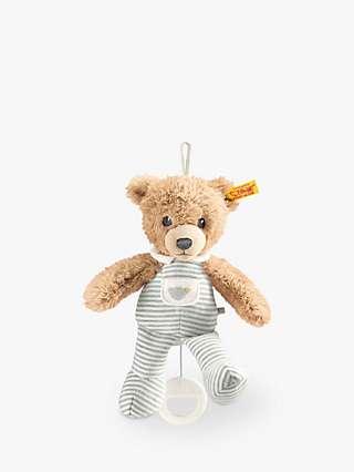 Steiff Sleep Well Bear Music Box Plush Soft Toy