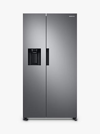 Samsung RS67A8810S9 Freestanding 65/35 American Fridge Freezer, Stainless Steel