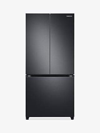 Samsung RF50A5002B1 Freestanding 75/25 French Fridge Freezer, Black