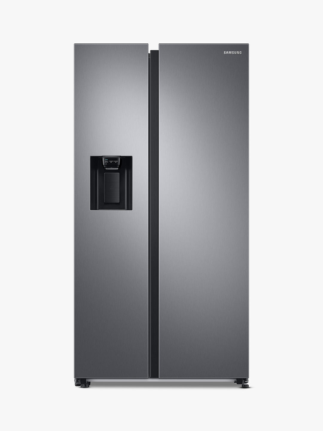 Buy Samsung RS68A8830S9 Freestanding 65/35 American Fridge Freezer, Stainless Steel Online at johnlewis.com