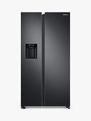 Samsung RS68A8830B1 Freestanding 65/35 American Fridge Freezer, Black