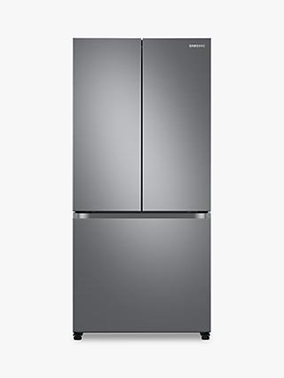 Samsung RF50A5002S9 Freestanding 75/25 French Fridge Freezer, Stainless Steel