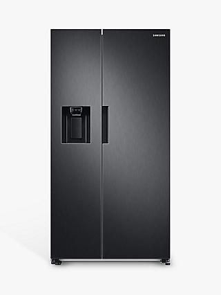 Samsung Series 7 RS67A8810B1 Freestanding 65/35 American Fridge Freezer, Black