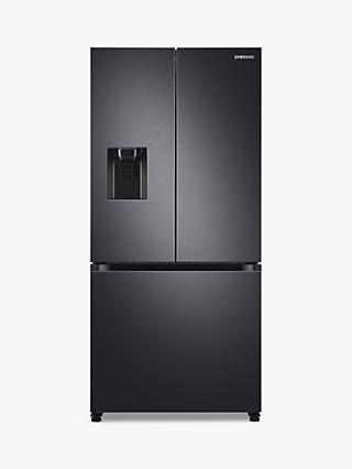 Samsung RF50A5202B1 Freestanding 75/25 French Fridge Freezer, Black