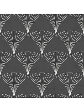 Galerie Art Deco Fan Wallpaper