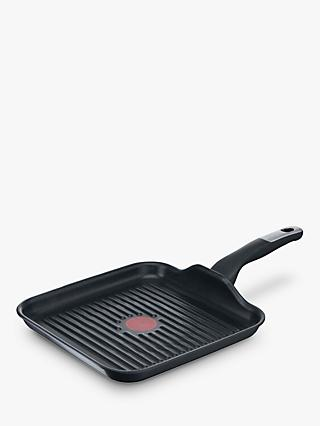 Tefal Unlimited Aluminium Non-Stick Square Grill Pan, 26cm