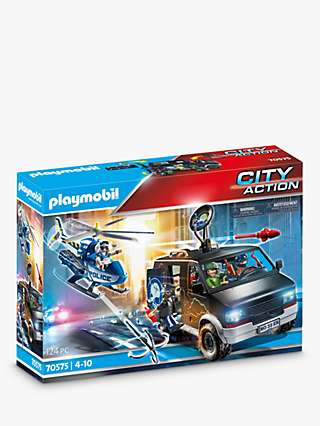 Playmobil City Action 70575 Police Helicopter Pursuit