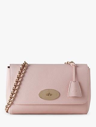 Mulberry Medium Lily Classic Grain Leather Shoulder Bag