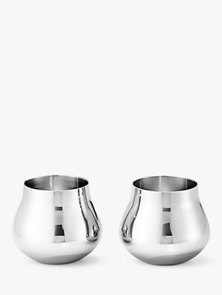Georg Jensen Sky Shot Glasses, Set of 2