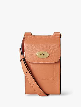 Mulberry Mini Antony Small Classic Grain Leather Satchel
