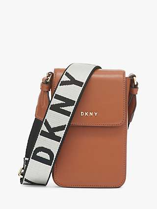 DKNY Winnona Leather Cross Body Phone Bag