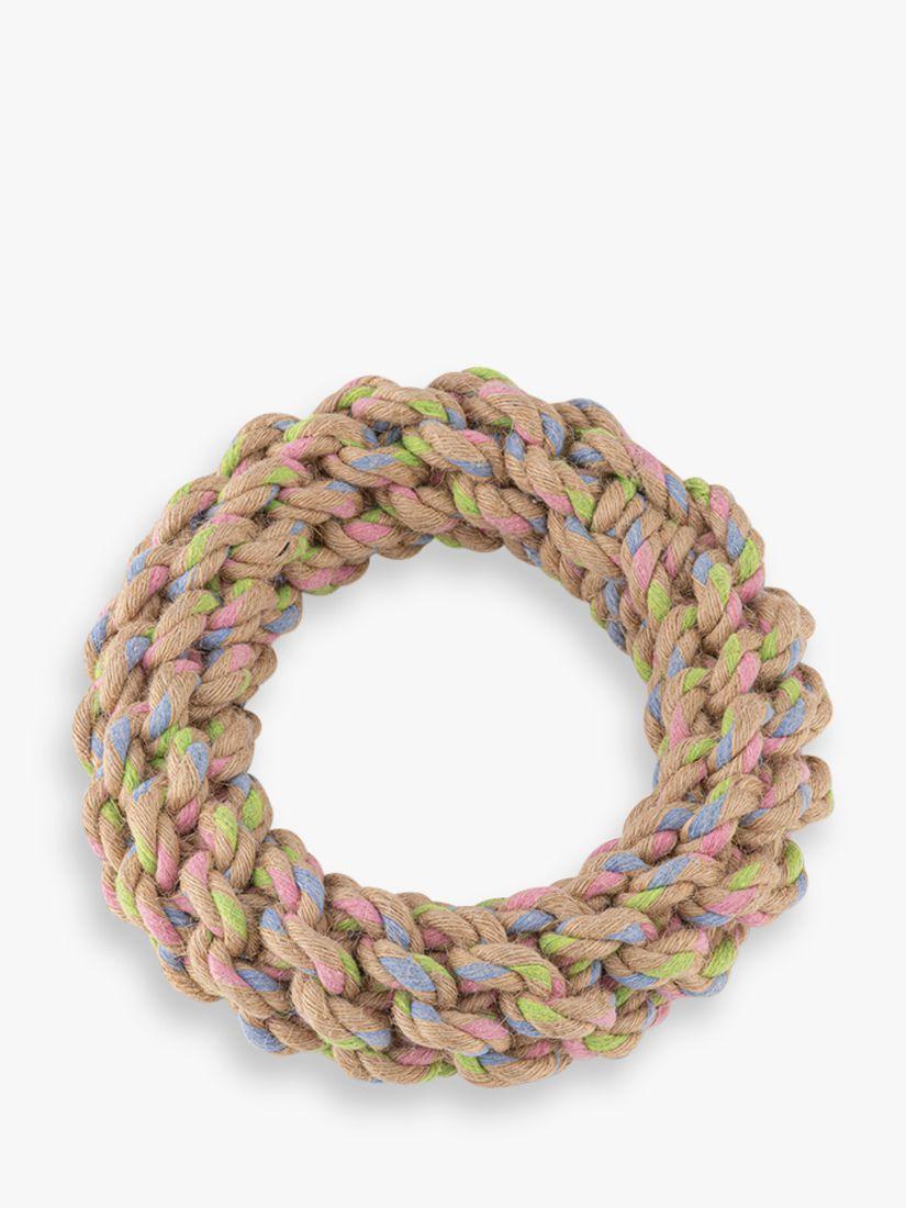 Beco Pets Hemp Rope Jungle Ring Dog Toy