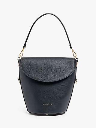 Coccinelle Diana Flap Over Leather Shoulder Bag