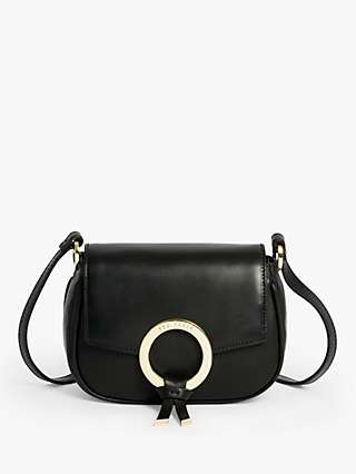 Ted Baker Trinett Statement Ring Leather Cross Body Bag