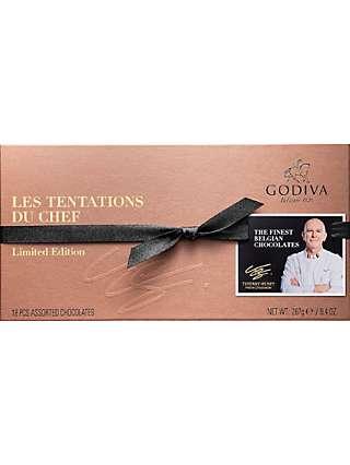 Godiva Les Tentations Du Chef Limited Edition Chocolates, 267g