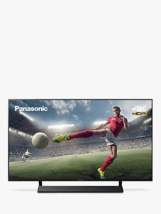 Panasonic TX-40JX870B (2021) LED HDR 4K Ultra HD Smart TV, 40 inch with Freeview Play & Dolby Atmos, Black
