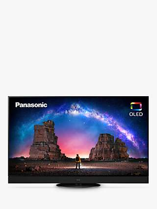 Panasonic TX-55JZ2000B (2021) OLED HDR 4K Ultra HD Smart TV, 55 inch with Freeview Play & Dolby Atmos, Black