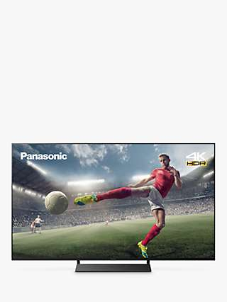 Panasonic TX-65JX870B (2021) LED HDR 4K Ultra HD Smart TV, 65 inch with Freeview Play & Dolby Atmos, Black